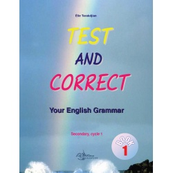Test & correct your english grammar - Book 1